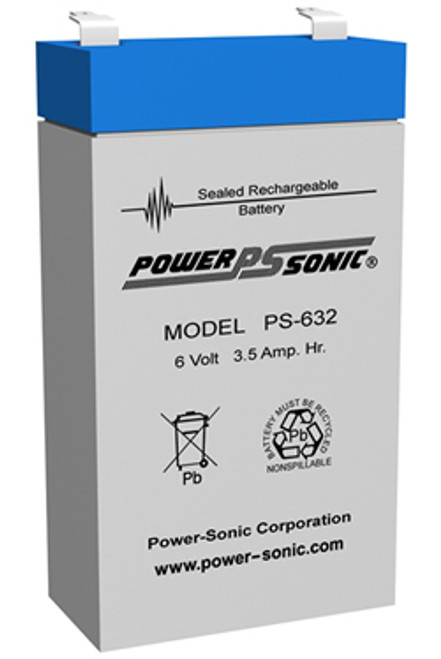 Power-Sonic PS-632 Battery