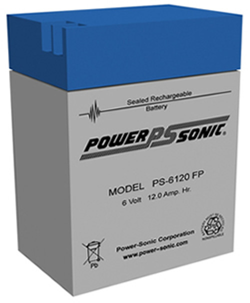 Power-Sonic PS-6120 Battery - 6 V 13ah