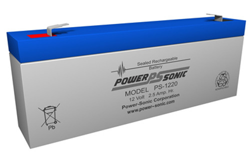 Power-Sonic PS-1220 12V 2.5Ah Battery