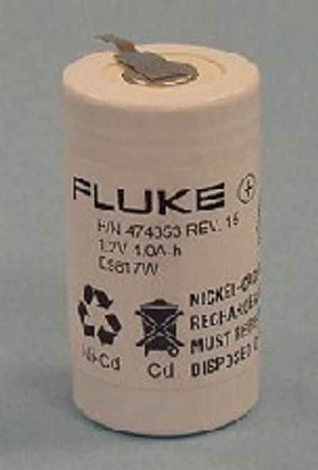 Fluke 474353 Rev 15 - 346924 Replacement Battery - 1.2V 4000mAh