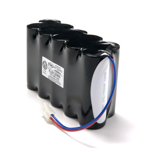 ELB1208N Lithonia Nicad Battery Pack