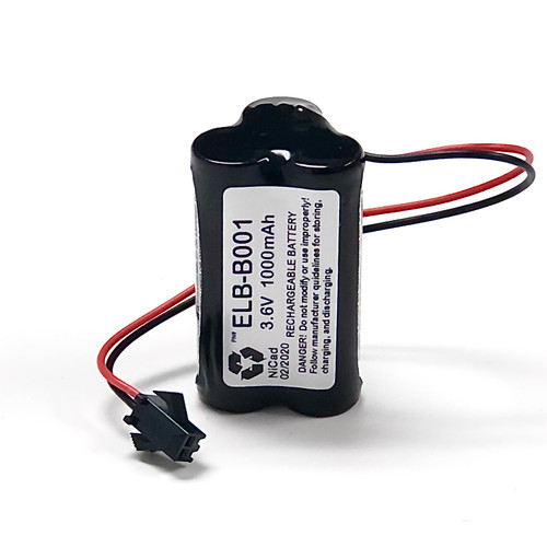 ELB-B001 Lithonia NiCd Battery Pack