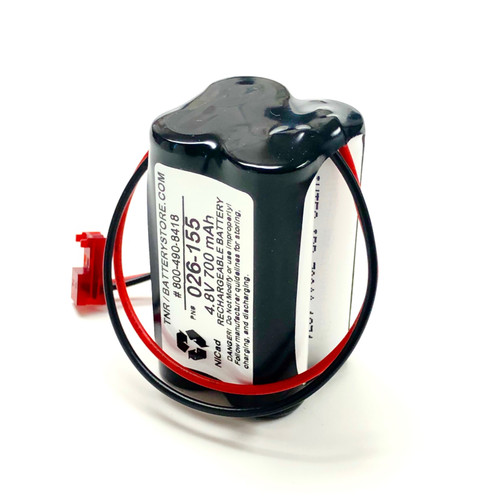 Aftermarket Replacement for Sure-Lite  026-155 Battery Pack