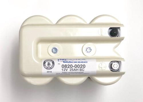 Cyclon 0820-0020 Battery 12V 25.0Ah