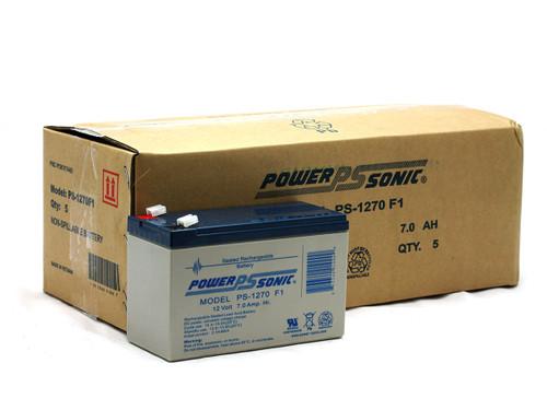PS-1270F1 12V 7.0Ah Powersonic