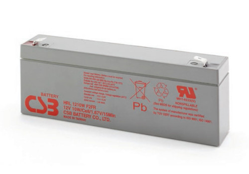 CSB HRL1210W Battery - 12 Volt 10W/Cell 2.3 Amp Hour (High Rate - Long Life)