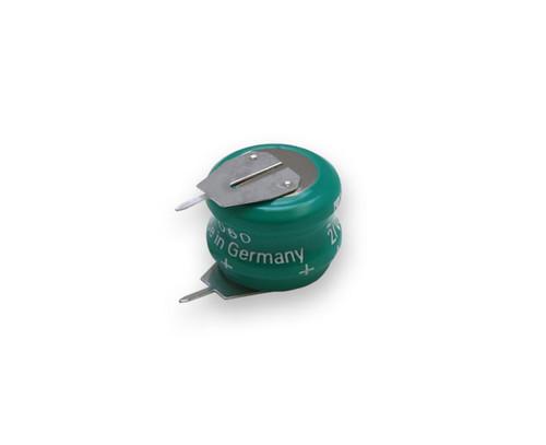 Varta 55608302015 - 2/V80H SK S PCBS Battery - 2.4V 80 Milliamp Hour Ni-MH 2 Pins(1+/1-)