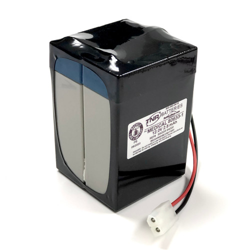 Aftermarket Replacement for SSCOR  64000 ( 80633-1) Battery