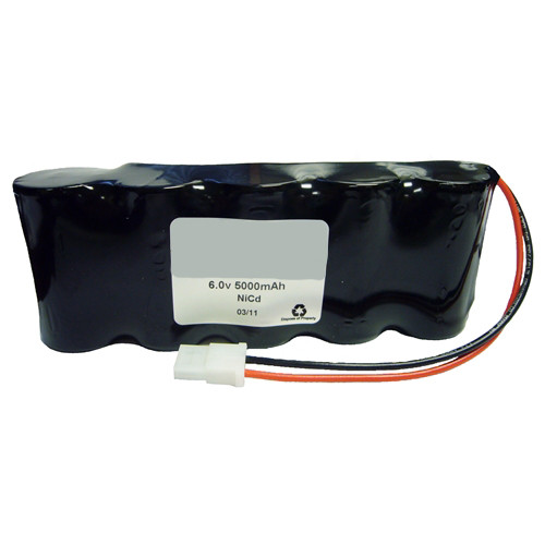 PowerSonic A13463 Emergency Light Battery 6V 5Ah