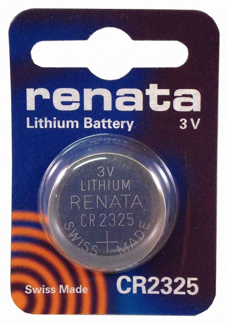 Renata CR2325 Lithium Battery - 3V 190mAh