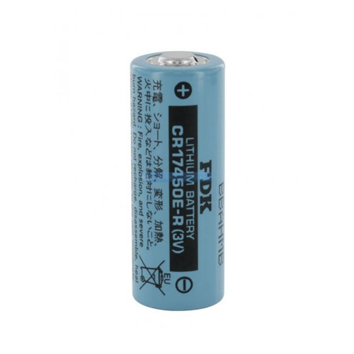 FDK CR17450E-R Battery - 3 Volt 2400mAh 2/3A Lithium