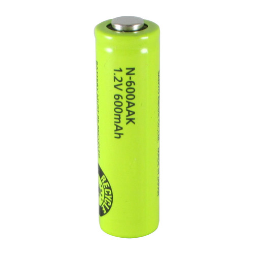 Panasonic N-600AAK Battery - 1.2 Volt 600mAh AA Ni-Cd (Heat Resistant)