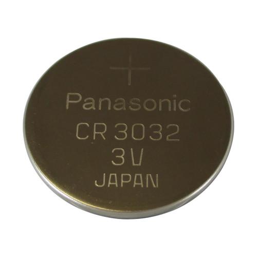 Panasonic CR3032 Lithium Battery - 3 Volt 500mAh