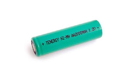 Tenergy 1.2V 2000mAh Ni-MH Rechargeable AA Battery - 10306