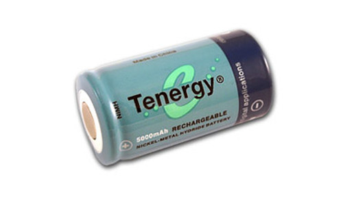 Tenergy 1.2V 5000mAh Ni-MH Rechargeable C Battery - 10203