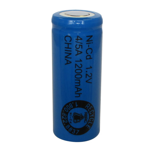 Evergreen 1.2V 1200mAh Ni-Cd Rechargeable 4/5 A Battery - N4/5A