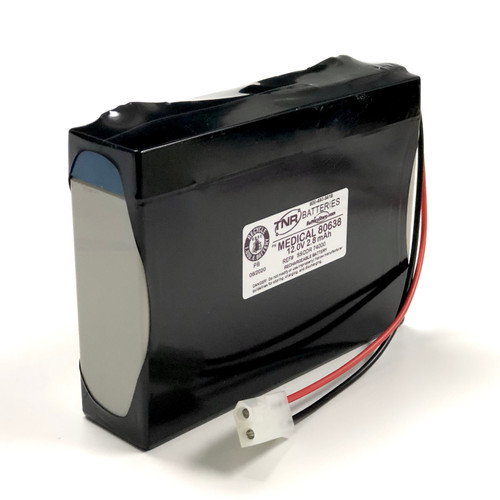Aftermarket Replacement for SSCOR 80638 Medical Battery B11125