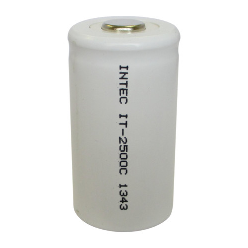 Intec IT-2500C Battery - 1.2V 2500mAh Ni-Cd C Cell Rechargeable