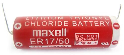 Maxell ER17/50  3.6V 2600MAH Lithium Battery