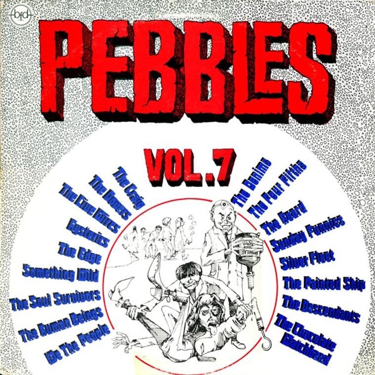 PEBBLES - Vol 07 (ORIGINAL 60s PUNK ROCK CLASSICS)Comp LP