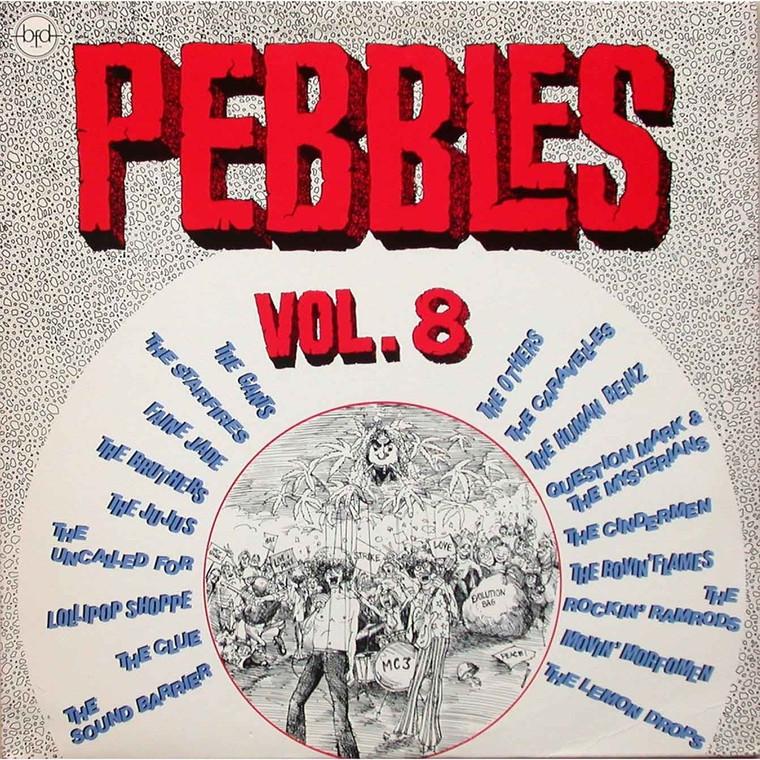 PEBBLES - Vol 08(ORIGINAL 60s PUNK & PSYCH CLASSICS) Comp LP