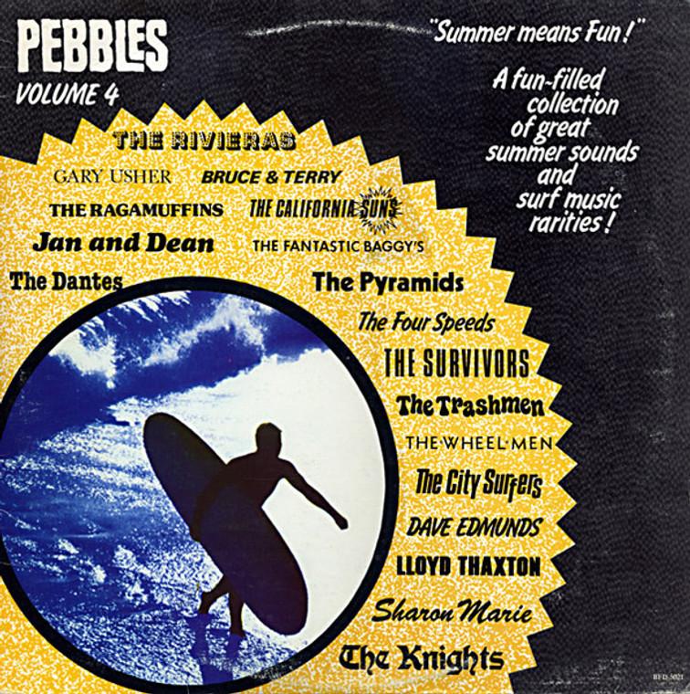 PEBBLES - Vol 04 (60s SURFIN TUNES) Comp LP