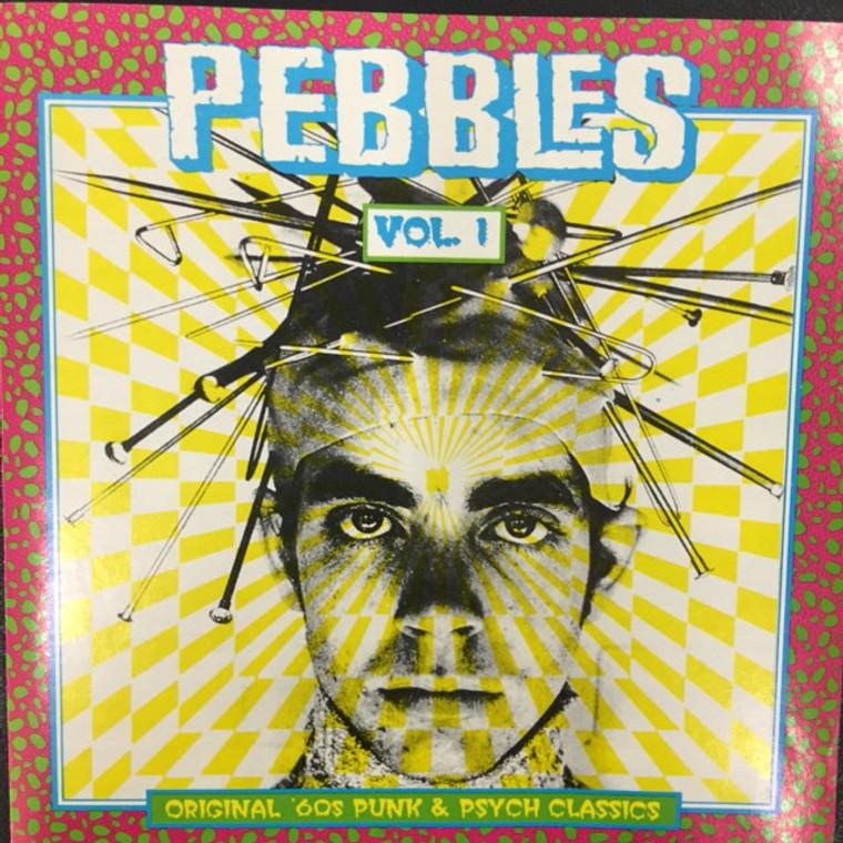 PEBBLES - Vol 01 (RARE 60s GARAGE PSYCH!)  Comp CD