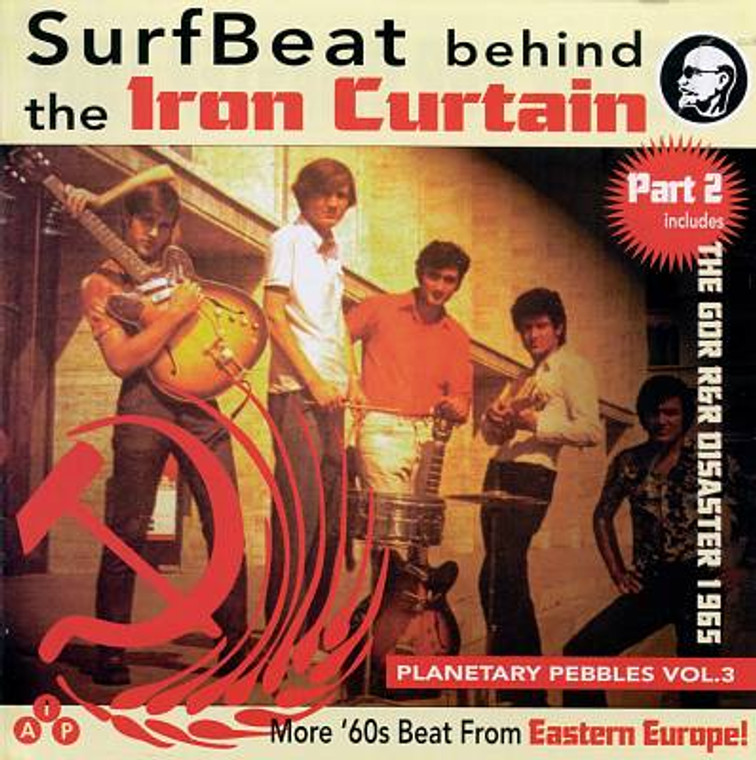 PLANETARY PEBBLES #3:  Surfbeat Pt2 (26 tracks of demented 60s Cold War sounds) Comp CD