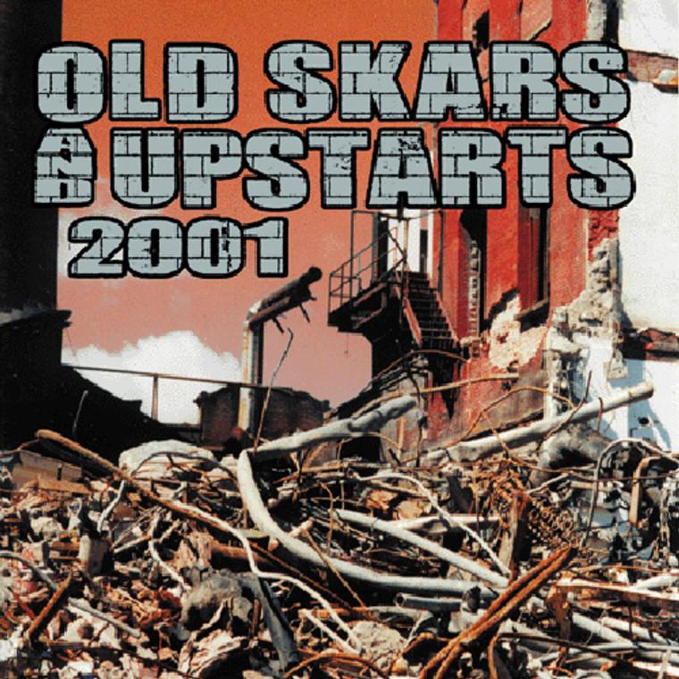 OLD SKARS & UPSTARTS 2001-COMPILED BY DUANE PETERS- Comp CD