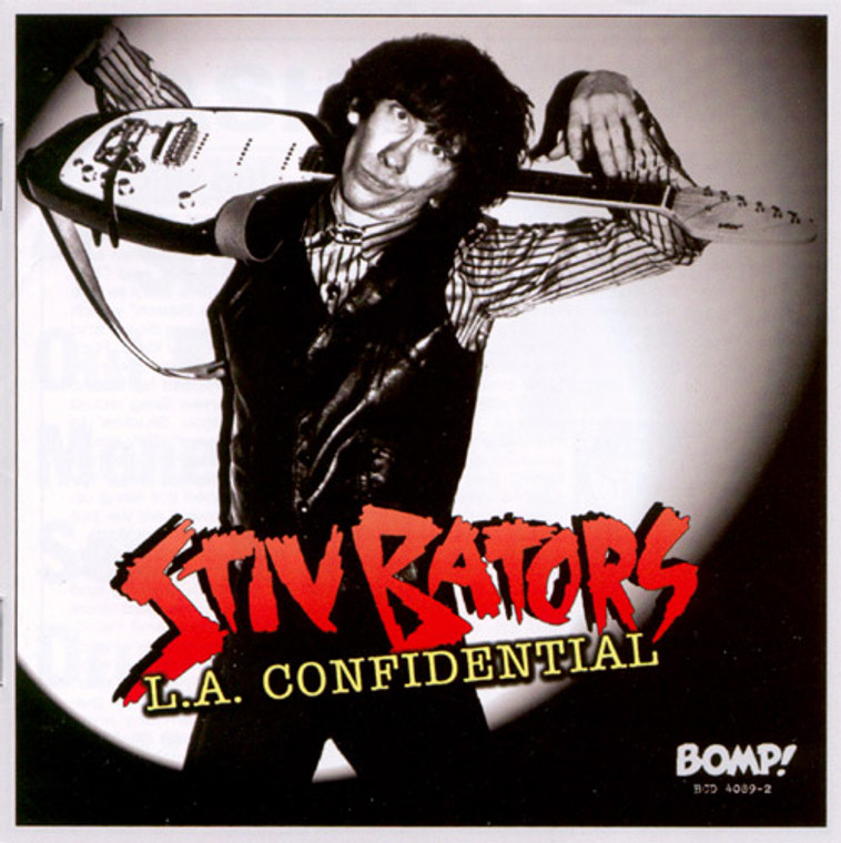 BATORS, STIV - L.A. Confidential- with 24 page booklet, liners & rare photos. (DEAD BOYS powerpop garage)  CD