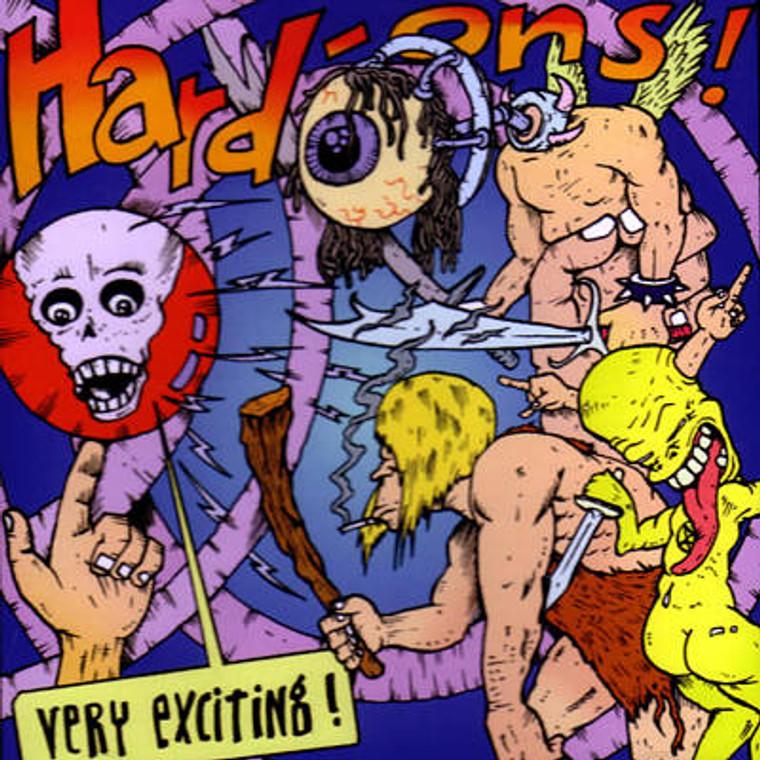HARD ONS  - Very Exciting! (Motorhead meets the Beachboys)LAST ONES!  CD