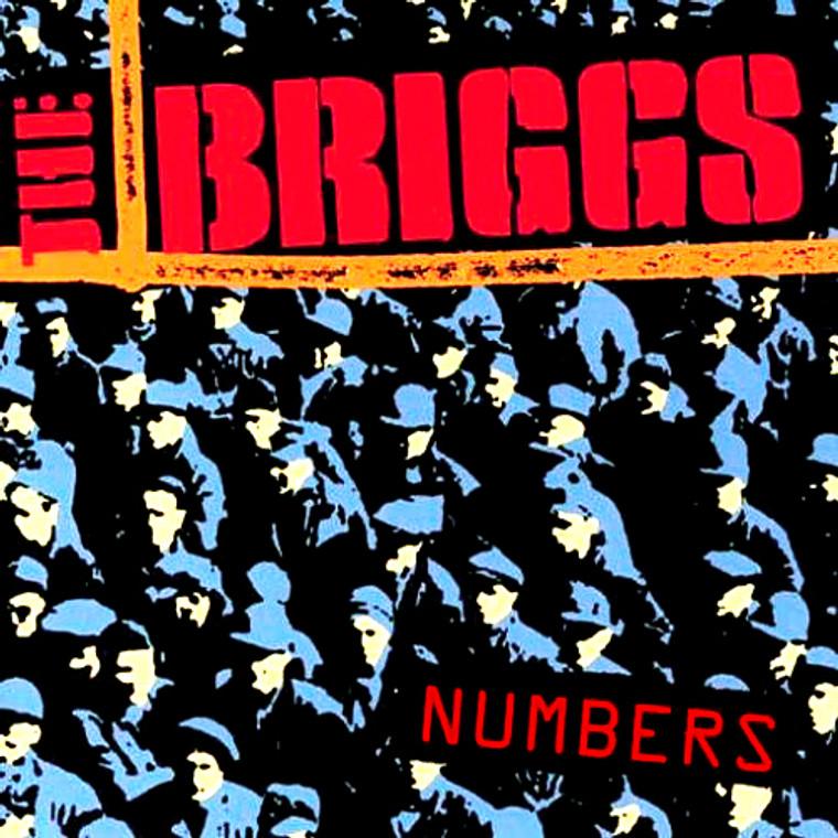 BRIGGS - Numbers-LAST COPIES of Southern Calif hardcore legends -CD