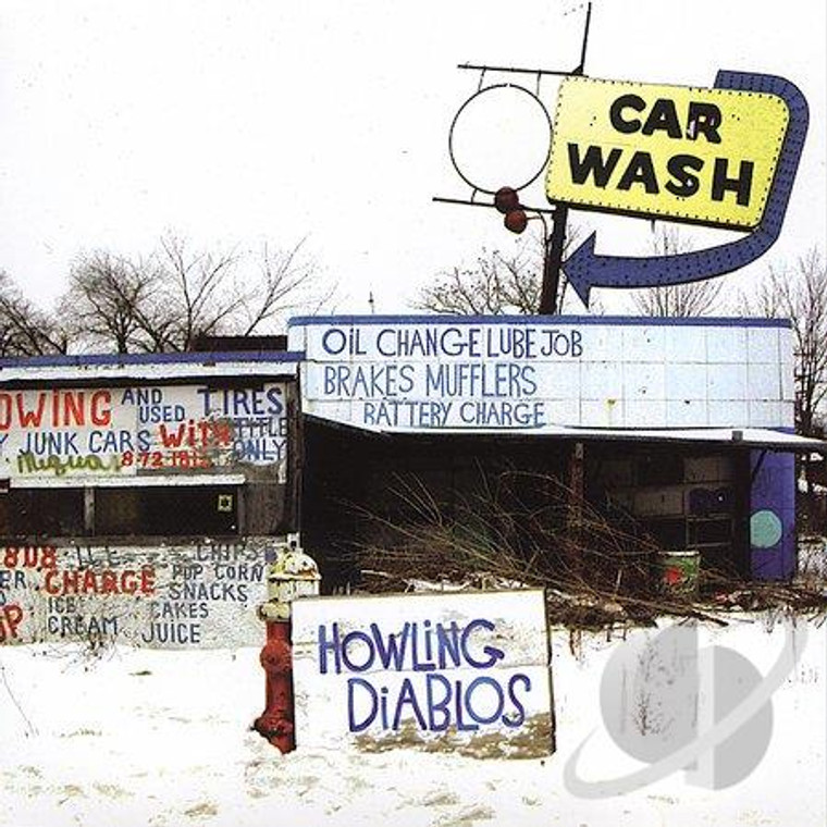 HOWLING DIABLOS - Car Wash  ( MOTOR CITY Iggy / Mc5 style)CD