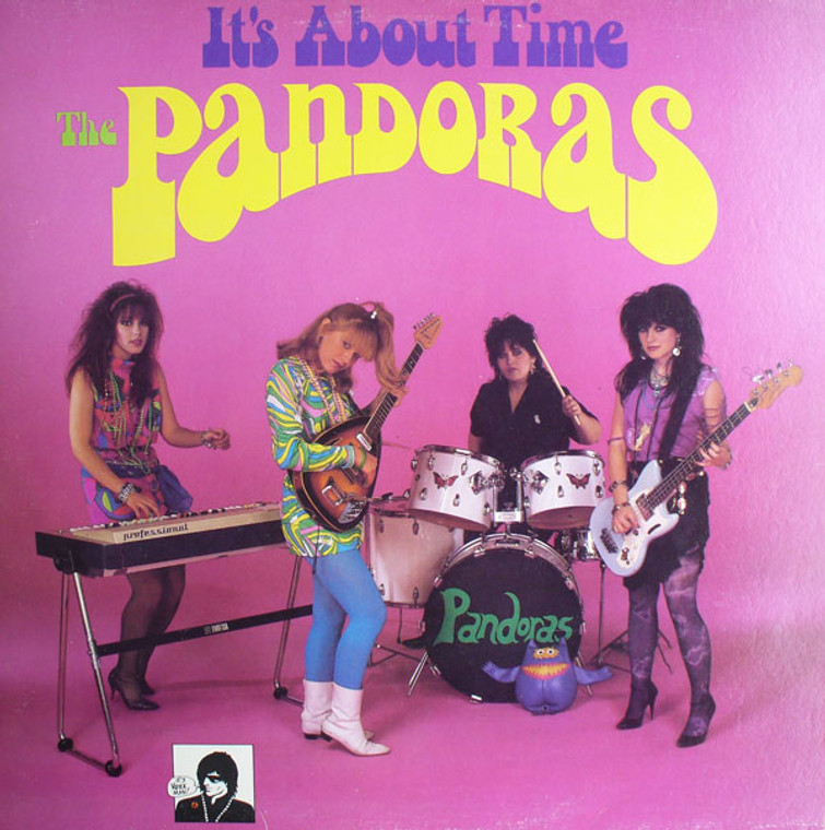 PANDORAS, THE - It's About Time-(80s PEBBLES STYLE Psychedelic fuzz goddesses!) CD
