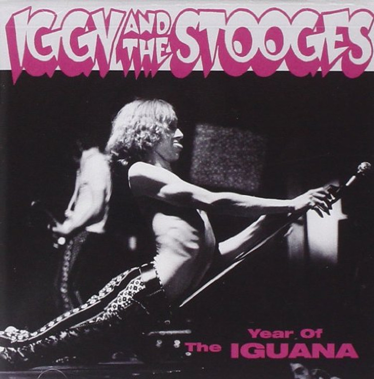 IGGY POP & the STOOGES  - Year of the Iguana LAST COPIES! ('70s material) CD