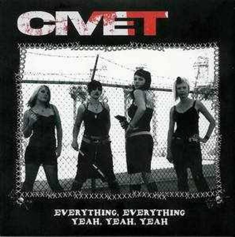 CIVET - Everything, Everything -HOT PINK VINYL- 70s style Punk girls! ,2005 pressing 45 RPM