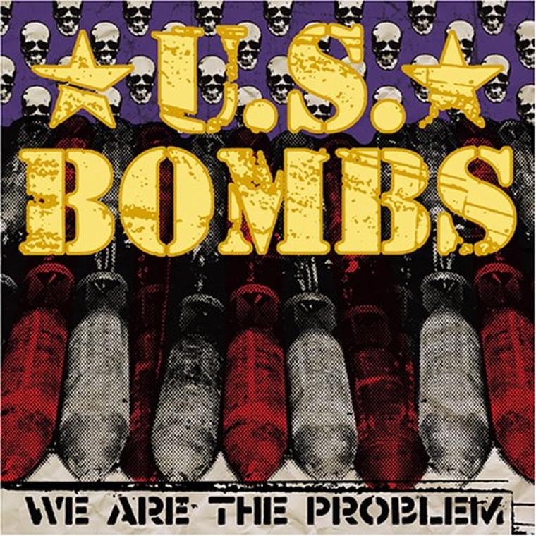U.S. BOMBS - We Are The Problem (OC street punk) PURPLE VINYL 45 RPM