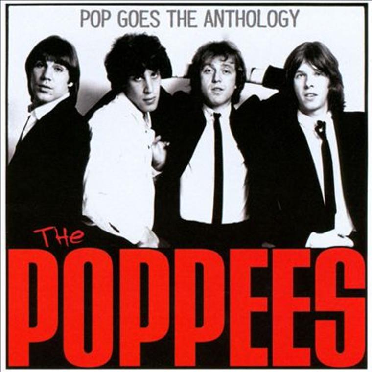 POPPEES -Pop Goes The Anthology (Classic 70s power pop! ) BLACK VINYL LP