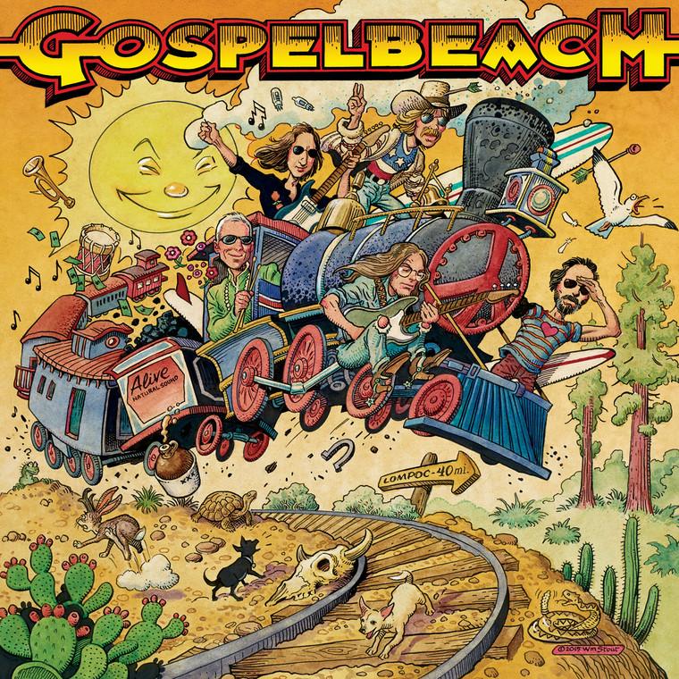 GOSPELBEACH (BEACHWOOD SPARKS) Pacific Surf Line-WITH NEAL CASAL  CD