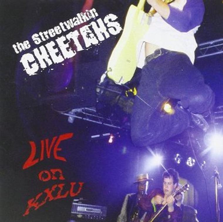 STREET WALKIN CHEETAHS  - Live on KXLU w FREE BONUS CD Prod by Wayne Kramer  Promo CD