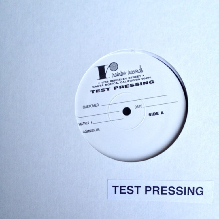 ALEXANDER, WILLIE -TEST PRESSING-(70s member of The Lost, The Bagatelle and The Grass Menagerie, Velvet Underground) Solo Loco  1982-LP