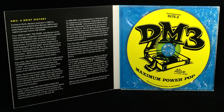 DM3  - West of Anywhere  DIGIPACK  w  EIGHT bonus tracks!  CD