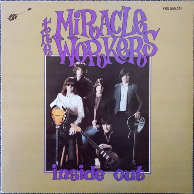 MIRACLE WORKERS  - Inside Out! Purple Marble vinyl- ONE ONLY!  LP