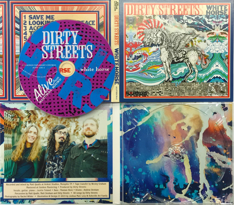 DIRTY STREETS  - White Horse  (Radio Moscow tourmates)DIGIPACK  CD