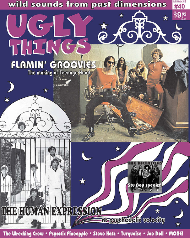 UGLY THINGS  - #40-  Flamin Groovies, Human Expression