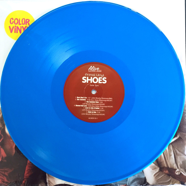 SHOES - Primal Vinyl- POWERPOP LEGENDS!  LAST COPIES BLUE VINYL
