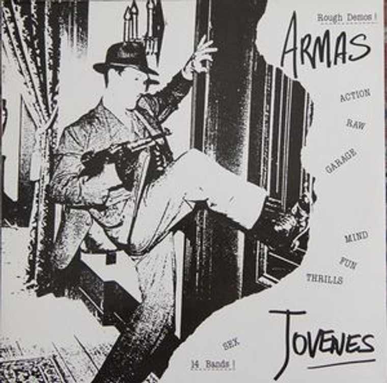 ARMAS JOVENES  - V/A  ( rare 90s Spanish garage)LAST COPIES   COMP LP