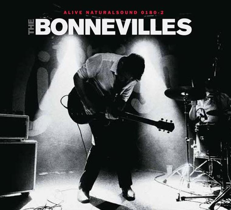 BONNEVILLES  - Arrow Pierce My Heart(Left Lane Cruiser, James Leg style garage)CLASSIC BLACK VINYL LP