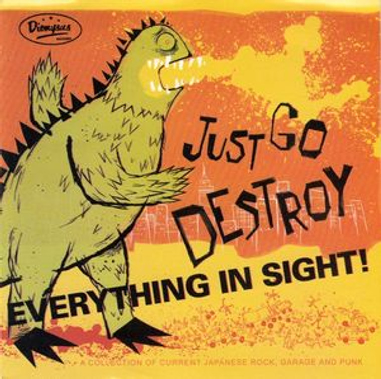 JUST GO DESTROY  Everything in Sight  PROMO (underground JAPANESE bands) COMP CD