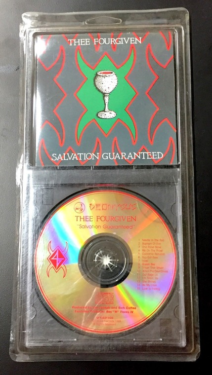 THEE FOURGIVEN -Salvation Guaranteed( comes in charming old style  blister pack )